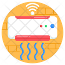 Smart Ac Air Conditioner Internet Of Things Icon