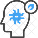 Smart Ai Head Artificial Intelligence Icon