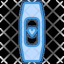Smart Watch Heart Rate Smart Band Track Heratbeat Icon