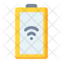 Battery Charging Wireless Icon