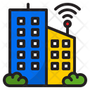 Smart Building Building Town Icon