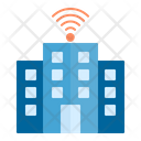 Smart Building Town Building Icon