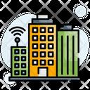 Smart Buildings Icon