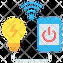 Smart Bulb Icon
