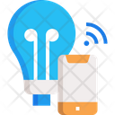 M Smart Bulb Icon