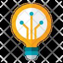 Smart Bulb Smart Lamp Bulb Icon