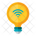 Smart Bulb Bulb Lamp Icon
