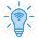 Smart Bulb Lamp Light Icon
