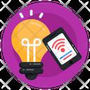 Smart Bulb Smart Light Smart Illumination Icon
