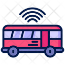 Smart Bus Internet Of Things Automation Icon
