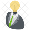 Creative Businessman Marketing Strategy Marketing Idea Icon