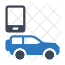 Mobile Jeep Vehicle Icon