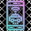 Moblie App Car Icon