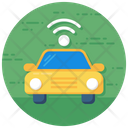 Autonomous Vehicle Autonomous Car Car Wifi Icon