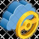 Cloud Computing Handle Icon