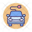 Smart Car Electric Car Ecofreindly Car Icon