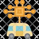 Smart Ai Car Icon