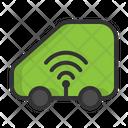 Smart Car Wifi Car Car Icon