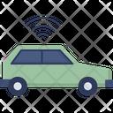 Smart Car Vehicle Automobile Icon