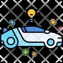 Smart Car Smart Vehicle Hybrid Car Icon