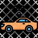 Autonomous Car Driverless Icon