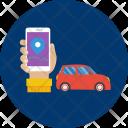 Smartcar Car Maps Icon