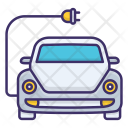 Battery Car Smart Icon