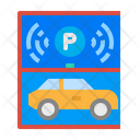 Parking Smart Automatic Icon