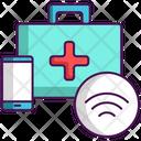 Smart Care Smart Medical Healthcare Icon