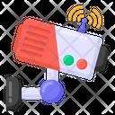 Smart Camera Smart Cctv Smart Surveillance Icon