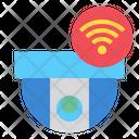 Smart Cctv Security Camera Technology Icon