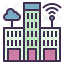 Smart Cities Buildings Icon