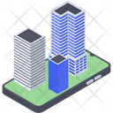 Building Automation Smart City Ar Icon
