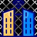 Smart Citym Smart City Smart Building Icon