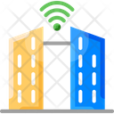 Smart Citym Smart City Smart Building Icon
