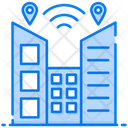 Smart City Smart Building Internet Of Things Icon