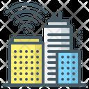 Smart City City Buildings Icon