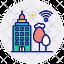 Smart City Building City Icon