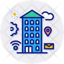 Smart City Buildings Business Icon