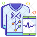 Smart Clothes Technological Clothes Ai Suit Icon