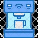 Smart Coffee Technology Coffee Machine Icon