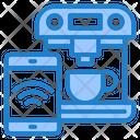 Smart Coffee Machine Icon