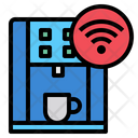 Smart Coffee Machine Coffee Machine Technology Icon
