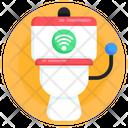 Smart Commode Wireless Commode Smart Washroom Icon