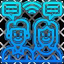 Smart Communication Icon