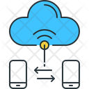 Smart Connect Cloud Transfer Cloud Connect Icon