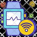 Wearable Tracker Smartwatch Smart Bracelet Icon