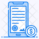 Smart Contract Agreement Online Agreement Icon