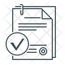 Smart Contract Contract Agreement Icon
