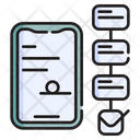 Smart Contract Agreement Electronic Icon